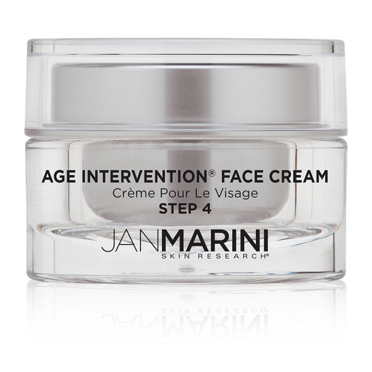 age intervention face cream jan marini