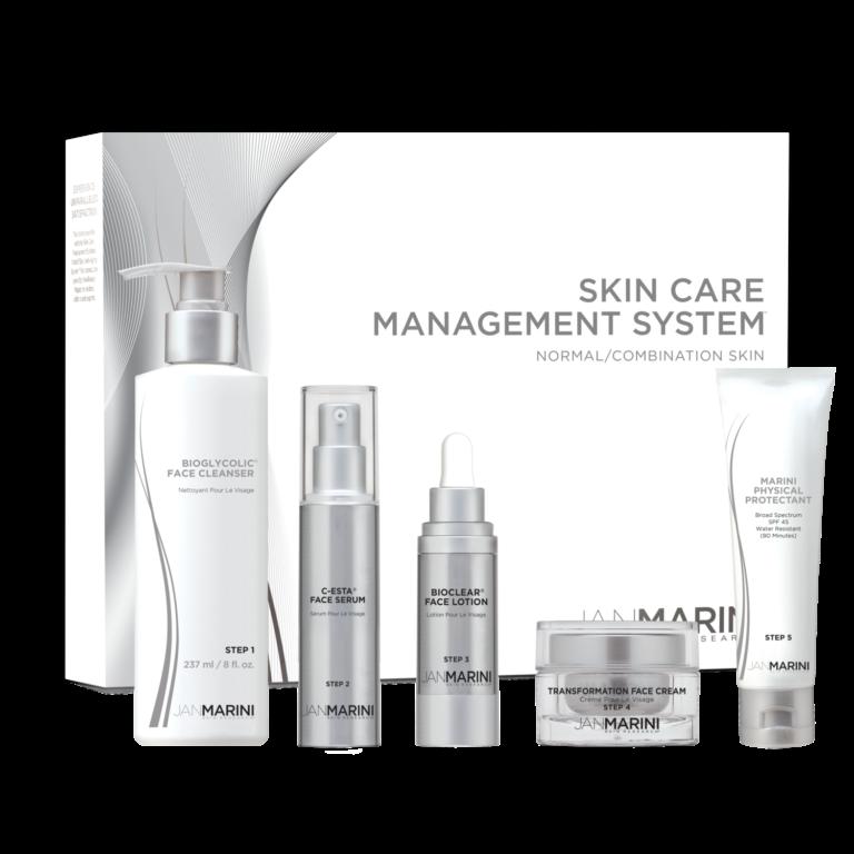 JM Skin Care Management System - 5 prod. (Normale - Gecombineerde huid) (FULL SIZE) (1)